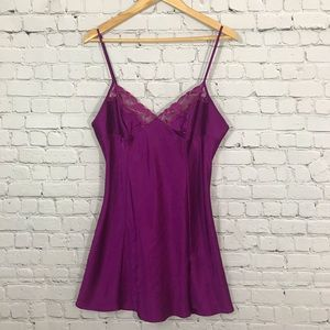 Victoria's Secret silk slip dress